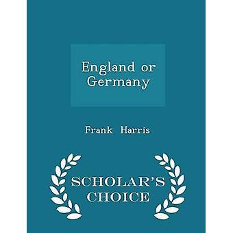 إنكلترا أو ألمانيا العلماء الطبعة اختيار طريق هاريس آند فرانك