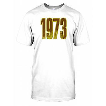 1973 - födelsedag år Mens T Shirt