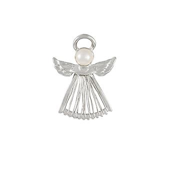 Eternal Collection Guardian Angel Silver Costume Brooch
