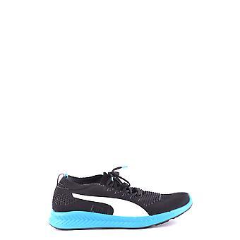 Puma Black Fabric Sneakers