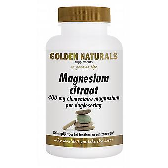 Golden Naturals Magnesium citrate 400 mg elemental 180 tabl.