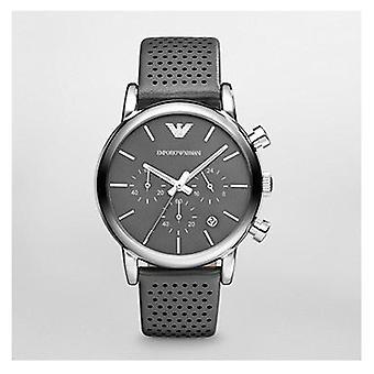Emporio Armani Ar1735 caballeros Classic correa de silicona reloj
