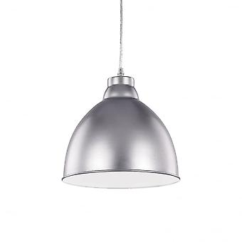 Ideal Lux Navy Single Pendant Light Aluminium