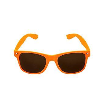 Orange Neon Wayfarer Brillen