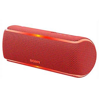 Sony SRSXB21R bluetooth speakers. CE7 NFC Red