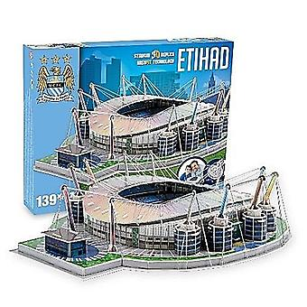 Manchester City Etihad Stadion 3D puslespill (pl)