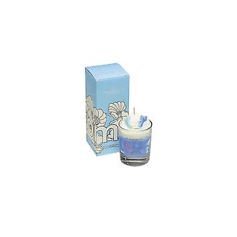 Bomb Cosmetics Piped Glass Candle - Snowglobe