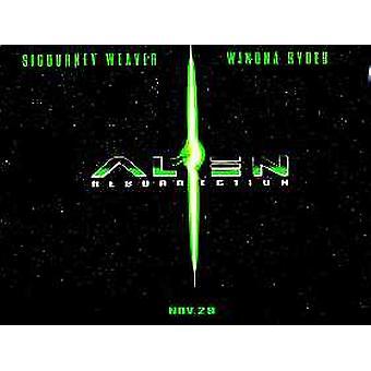 Alien Resurrection (Advance) (Double Sided) Original Cinema Poster