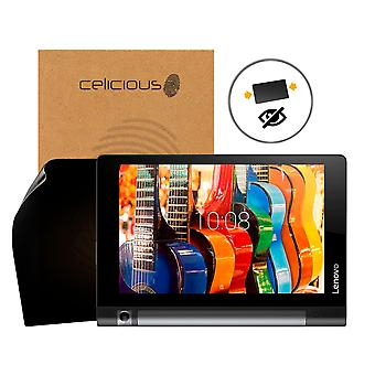 Celicious Privacy 2-Way Anti-Spy Filter Screen Protector Film Compatible with Lenovo Yoga Tab 3 Plus