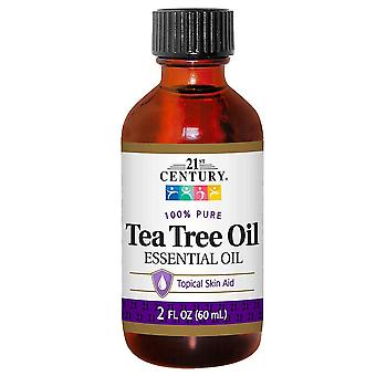 21st century 100% pure tea tree oil, essential oil, 2 oz