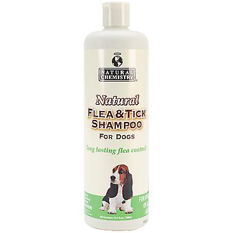 Natural Flea & Tick Shampoo For Dogs 16.9oz-  11000
