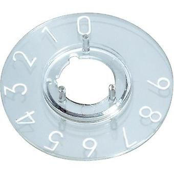Dial 1-10 270 ° OKW A4410060 Suitable for 10 mm knobs 1 pc(s)