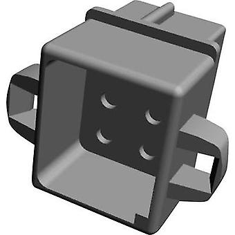 Socket enclosure - cable MATE-N-LOK Total number of pins 6 TE Connectivity 1-480276-0 Contact spacing: 5.08 mm 1 pc(s)