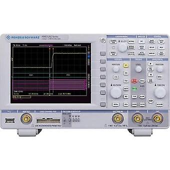 Digital Rohde & Schwarz HMO1222 200 MHz 1 null 1 null 8 Bit Calibrated to Manufacturer standards