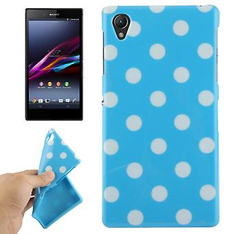 Protective case for mobile phone Sony Xperia Z1 blue/white