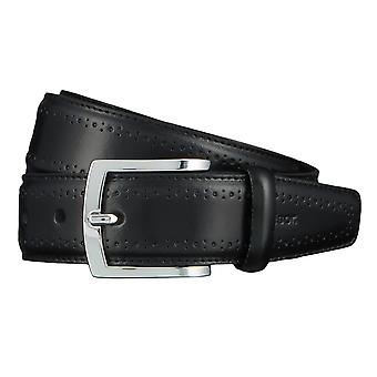 Windsor. Belts men's belts leather belt black 4466