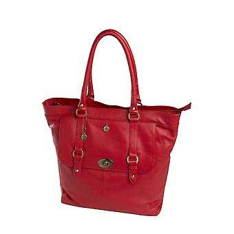 dR Amsterdam Handtas Mint Red
