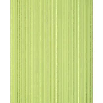 Stripe wallpaper EDEM 557 11 matt green white green 5.33 m2 structured foam vinyl wallpaper in textile design