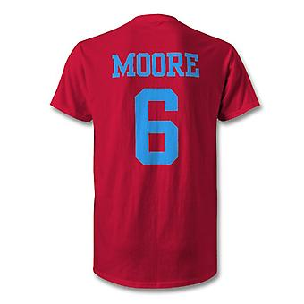 Bobby Moore West Ham Legend Hero T-Shirt