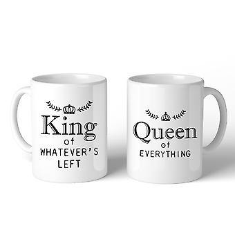 King And Queen Of Everything Couple Mug Christmas Valentine Gifts