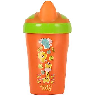 Vital Baby Soft Spout Toddler Trainer Cup 280ml - Orange