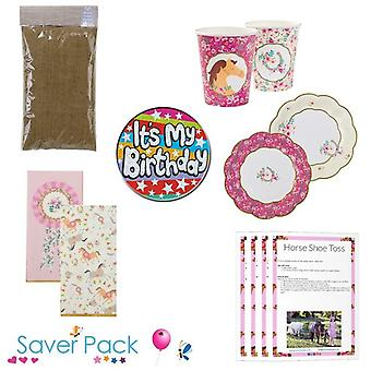 Pony Party Tableware Saver Pack - Option 2