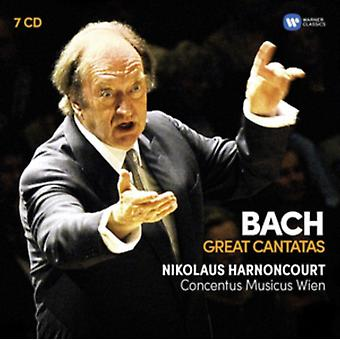 Bach: Great Cantatas by Nikolaus Harnoncourt