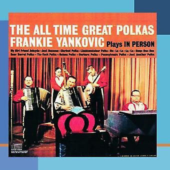 Frank Yankovic - All-Time Great Polkas [CD] USA import