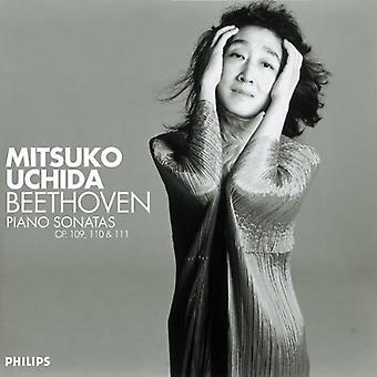 Mitsuko Uchida - Beethoven: Piano Sonatas Opp. 109, 110 & 11 [CD] USA import