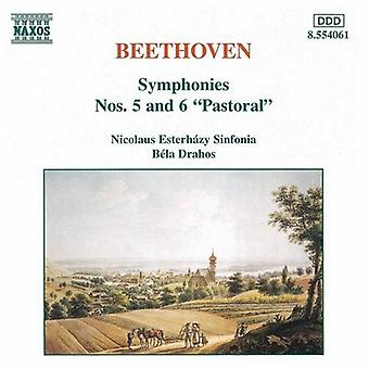L.V. Beethoven - Beethoven: Symphonies Nos. 5 & 6 [CD] USA import
