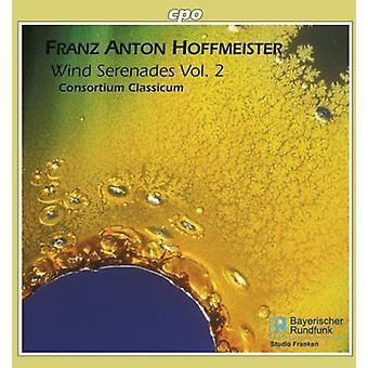 F.a. Hoffmeister - Franz Anton Hoffmeister: Vind serenader, Vol. 2 [CD] USA import