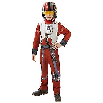 X-wing fighter Star Wars wing fighter space ship pilot child costume