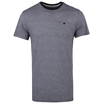 Weekend Offender Martini Navy & White Crew Neck T-Shirt