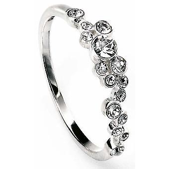 925 Silver Swarovski Crystal Ring
