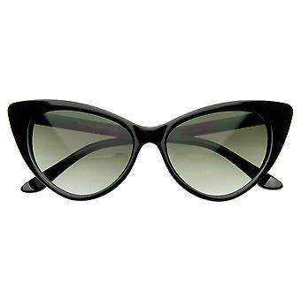 Супер Cateyes ретро вдохновили мода Mod шикарные высокие остроконечные Cat глаз очки