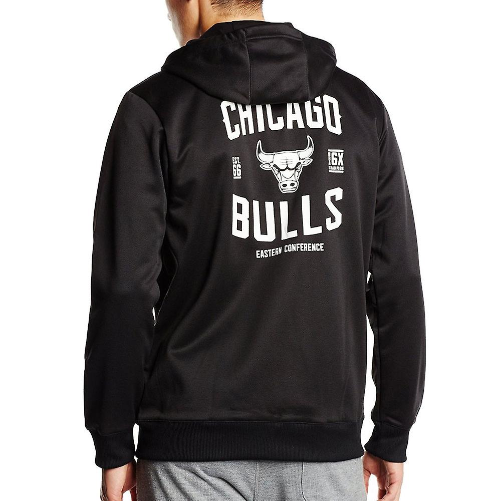 Adidas Basketball Fanwear Fleece NBA Chicago Bulls [black]