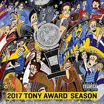Forskellige kunstner - 2017 Tony Award sæson [CD] USA importerer