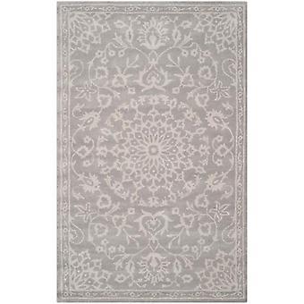 Bella grå Damask uld tæppe - Safavieh