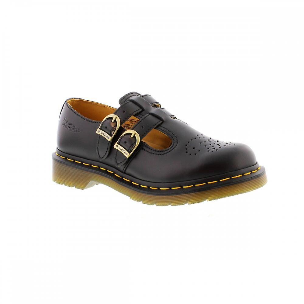 Dr Martens 8065 Mary Jane - Black Smooth Womens Shoes Various