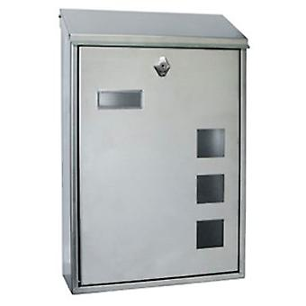 BTV Lisbon Mailbox Stainless Steel Vertical (DIY , Hardware , Home hardware , Mailboxes)