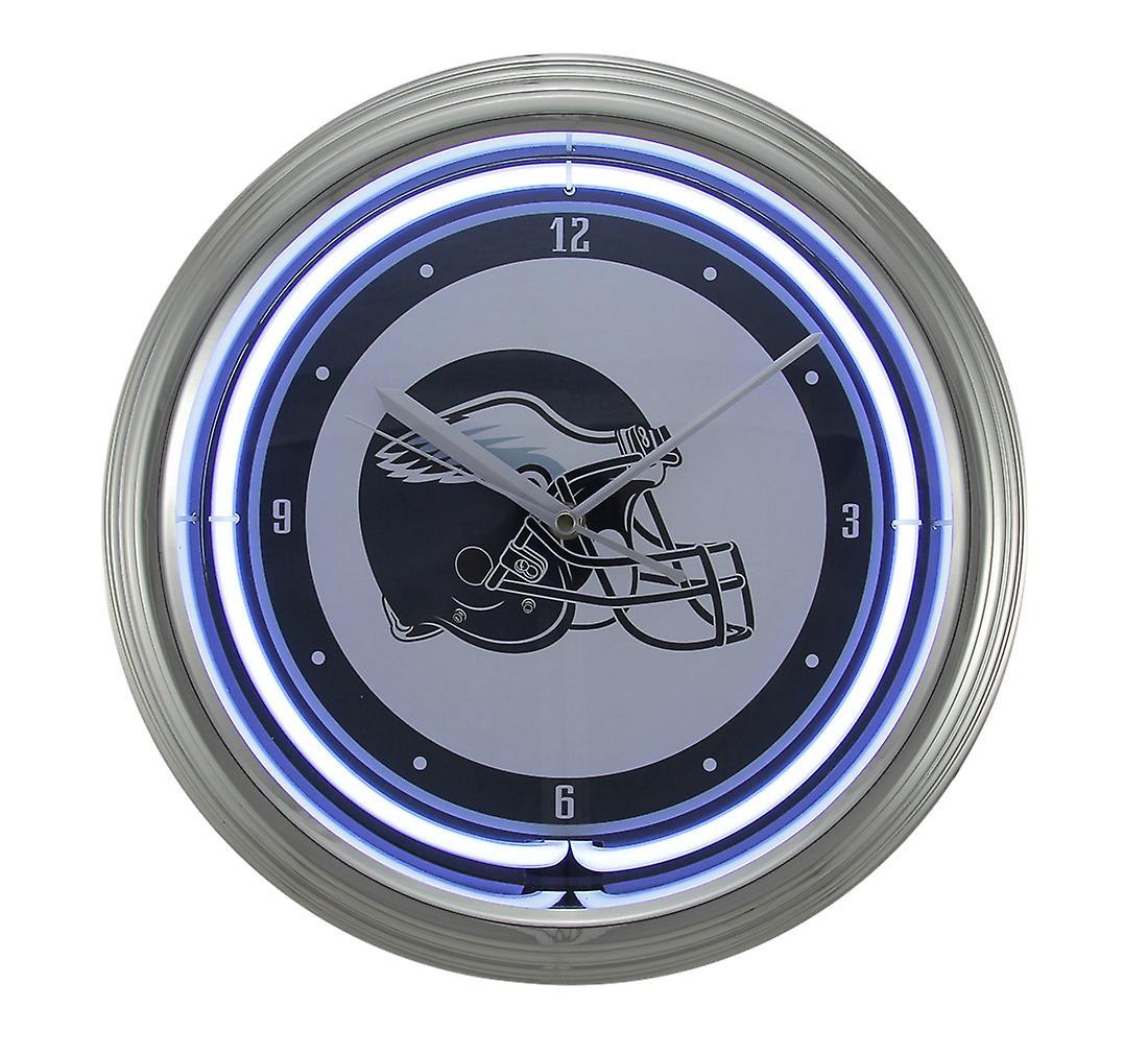 NFL Philadelphia Eagles 15 inch Neon Wall or Tabletop Clock