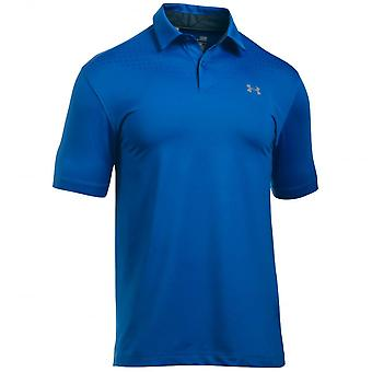 Under Armour Under Armour Coolswitch Ice Pick Polo Shirt - Blue Marker