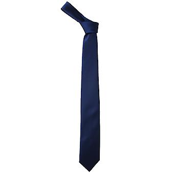 Navy Satin lige slips