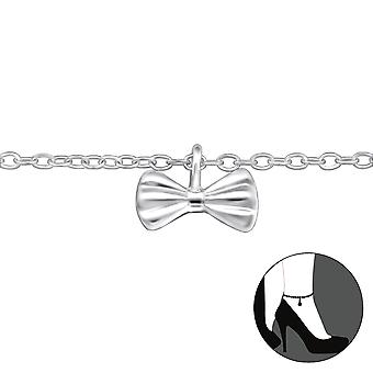 Bow - 925 Sterling Silver Anklets - W30319x