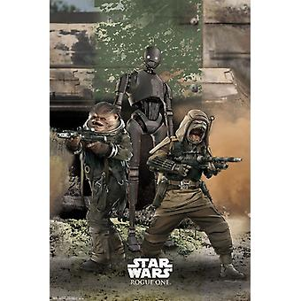 Star Wars Rogue One� - Trio Poster Poster Print