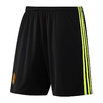 2016-2017 Belgium Home Adidas Football Shorts (Kids)