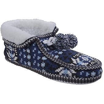 Divaz Womens/Ladies Lapland Knitted Slippers