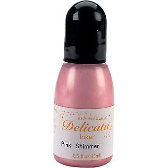 Delicata Pigmentink Refill .5oz-Pink Shimmer RC-333