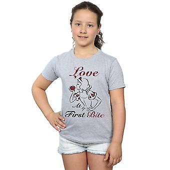 Disney Princess Girls Love At First Bite T-Shirt