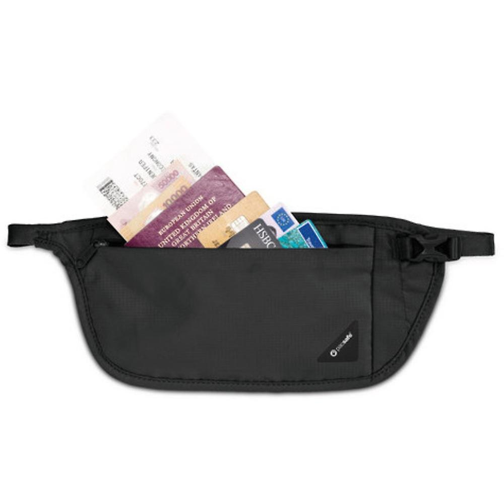 Pacsafe Coversafe V100 RFID Blocking Waist Wallet Equipment for Travel